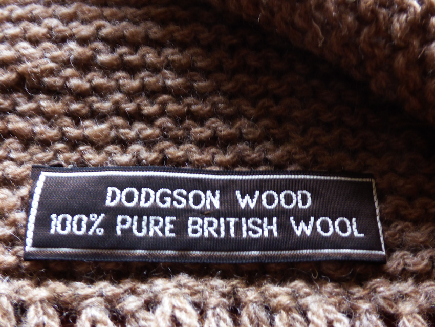 Dodgson Wood Shear Delight handmade scarf